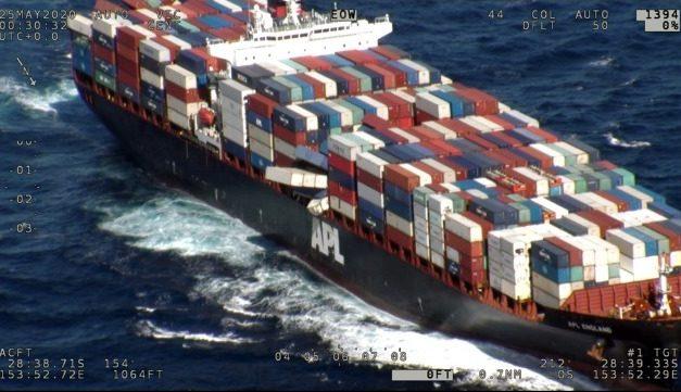 Australia detiene el buque APL England por violación del Convenio SOLAS