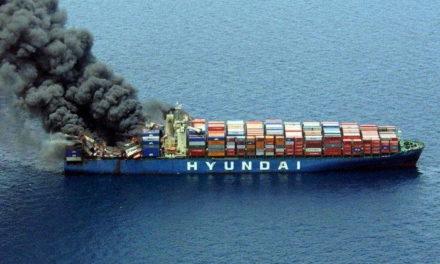 Centrarse en los incendios a bordo de los buques portacontenedores podría disminuir la cantidad de los mismos