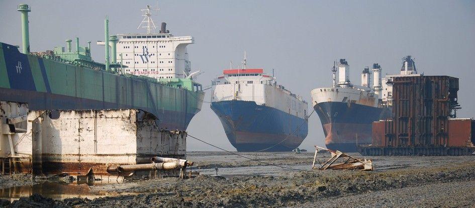 El reciclaje de barcos da las primeras señales del retorno a la actividad