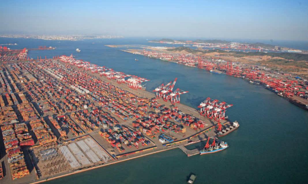 El volumen de los contenedores en los principales puertos chinos disminuyó a principios de mayo
