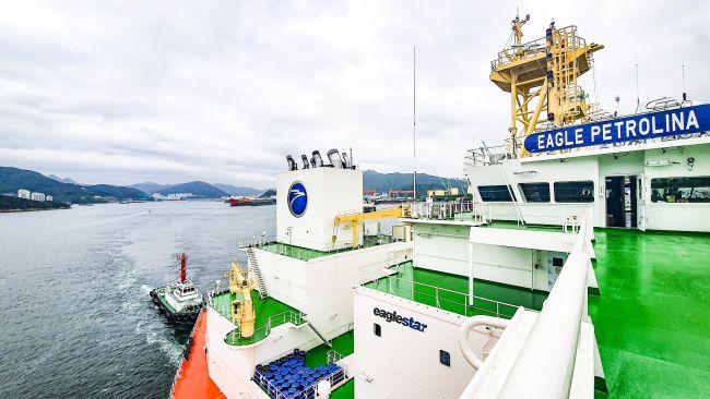 La AET recibe el primero de los cuatro buques tanqueros DP2 para ser fletado por Petrobras