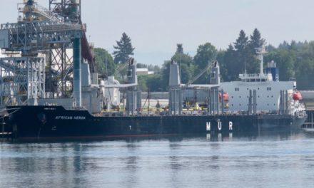 Los australianos detienen a un buque granelero que transportaba combustible con alto contenido de azufre