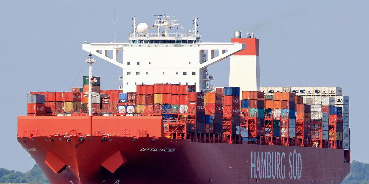Otro gran buque portacontenedores en Brasil tiene coronavirus a bordo