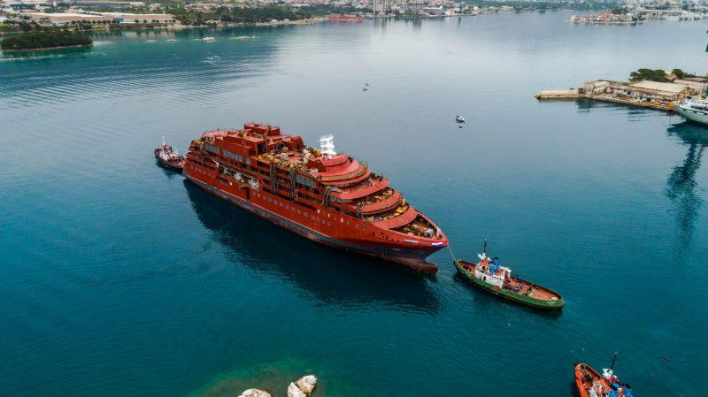 Se inaugura un nuevo crucero de expedición en Croacia
