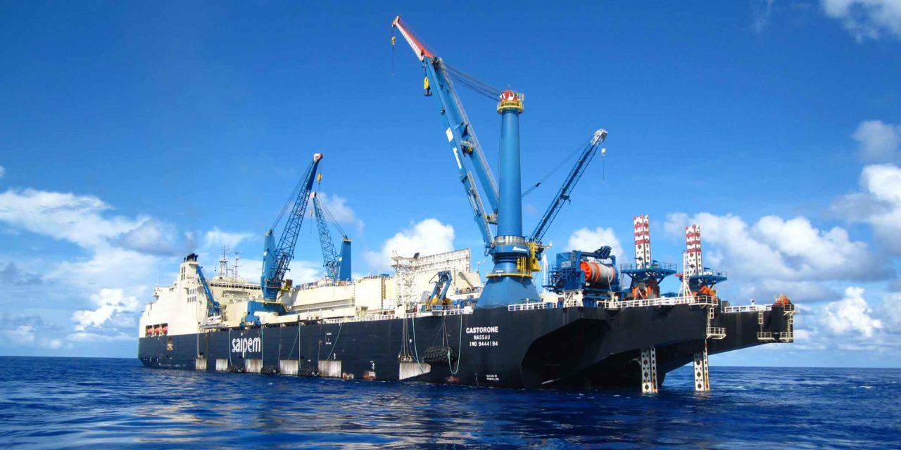 Saipem obtiene el contrato de un oleoducto en el Mar Báltico