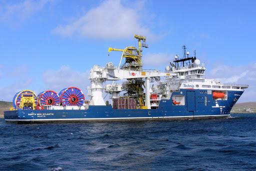 Trabajador del buque North Sea Atlantic sufre «lesiones por aplastamiento» durante la construcción de tuberías en Noruega