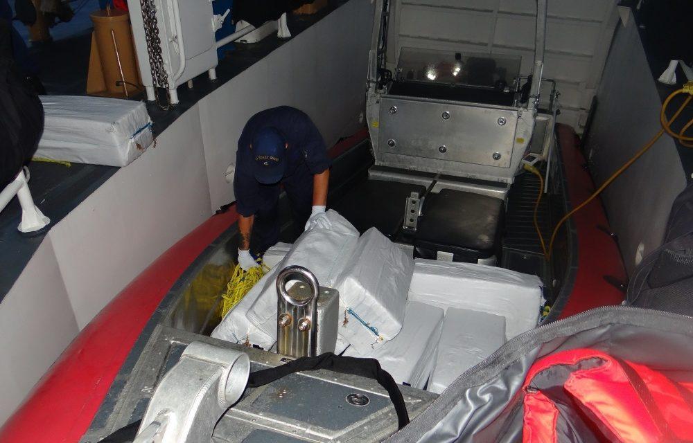 USCG intercepta un barco rápido de bajo perfil que transportaba droga