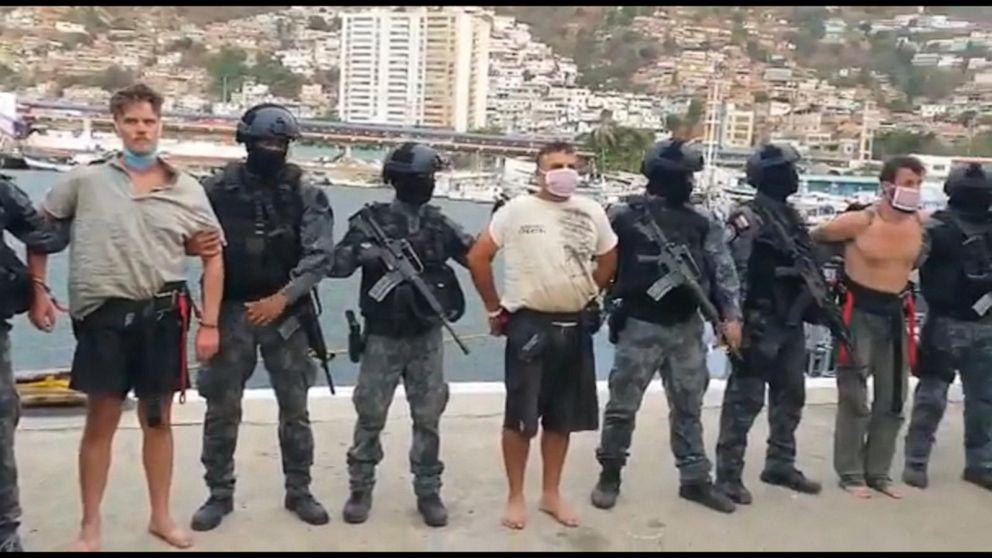 Venezuela captura a dos ciudadanos estadounidenses en una redada fallida en un barco