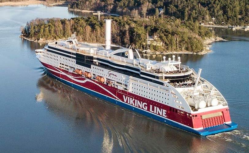 Viking Line reiniciará su servicio de transportar pasajeros para trabajos ESENCIALES