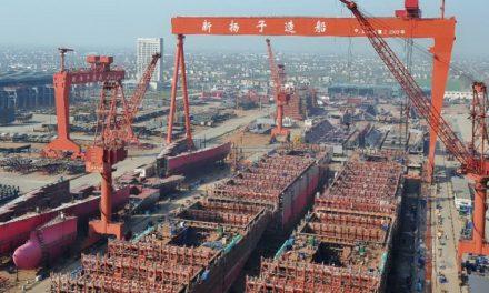 Yangzijiang obtiene siete pedidos de nuevas construcciones por un valor de 360 millones de dólares en el primer trimestre