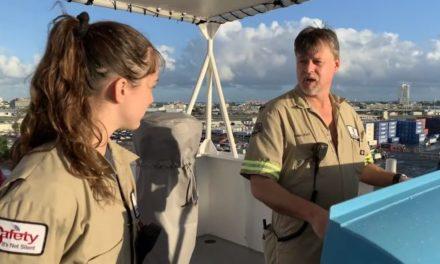 Crowley Maritime proporciona trabajo y experiencia a los cadetes a bordo de sus buques