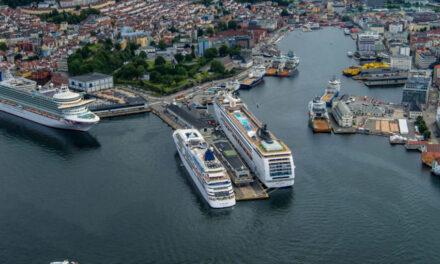 El Puerto de Bergen forma una empresa para medir el nivel de emisiones de los buques cuando están en el puerto