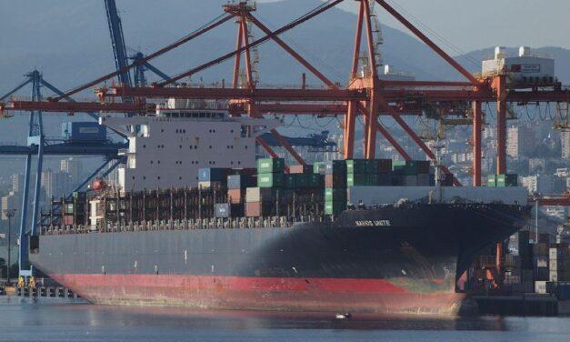 El buque de carga Navios perdió tres contenedores en aguas australianas