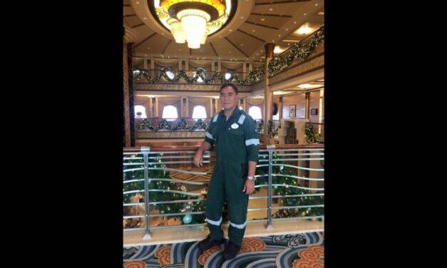 Marino filipino muere a bordo de un crucero de Disney