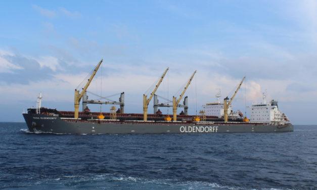 Oldendorff Carriers compra tres buques capesizes en 213 millones de dólares a Tata Power Company