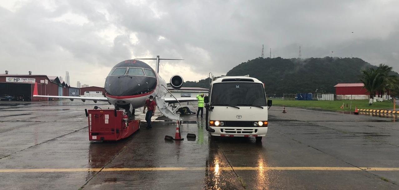 Primera repatriación humanitaria de tripulación en el Canal de Panamá durante la pandemia del Covid-19
