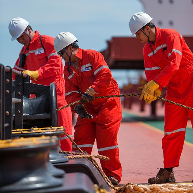 RightShip dona 25.000 dólares para apoyar el activo más valioso del transporte marítimo: la gente de mar