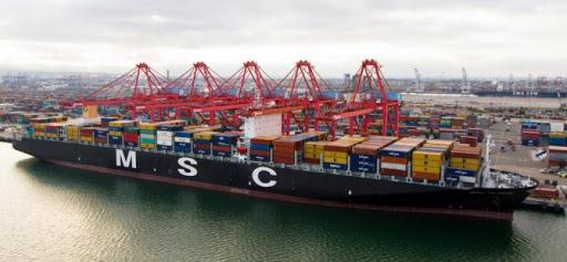 Total Terminals International (TTI)  establece un récord en América del Norte por el mayor volumen de contenedores manejados en un solo buque