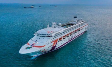 Un crucero arrestado obtuvo permiso para alejarse debido a un ciclón que se le aproxima