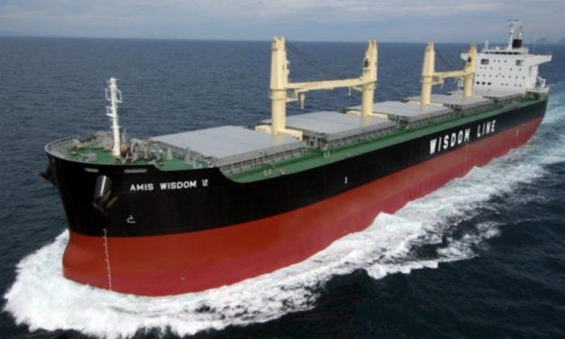 Wisdom Marine pidió cinco buques graneleros