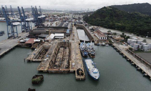 Astillero de Panamá reabre provisionalmente