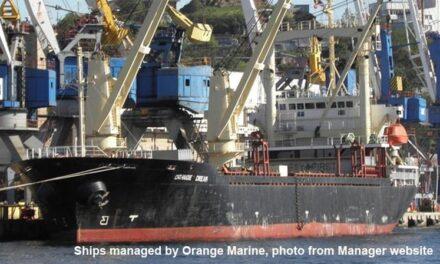 Buque de carga ruso fue incautado en Incheon y tiene una prueba positiva de covid-19