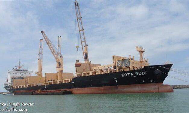 Cinco tripulantes secuestrados del buque multipropósito operado por Pacific International Lines