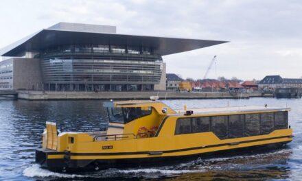 Damen entrega cinco transbordadores de propulsión de cero emisiones para Copenhague
