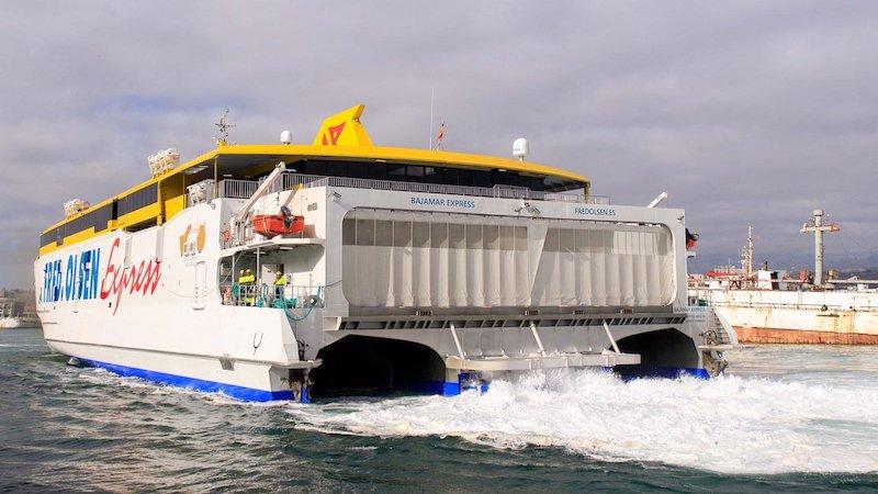 El «Expreso de Bajamar» llega a Las Palmas de Gran Canaria