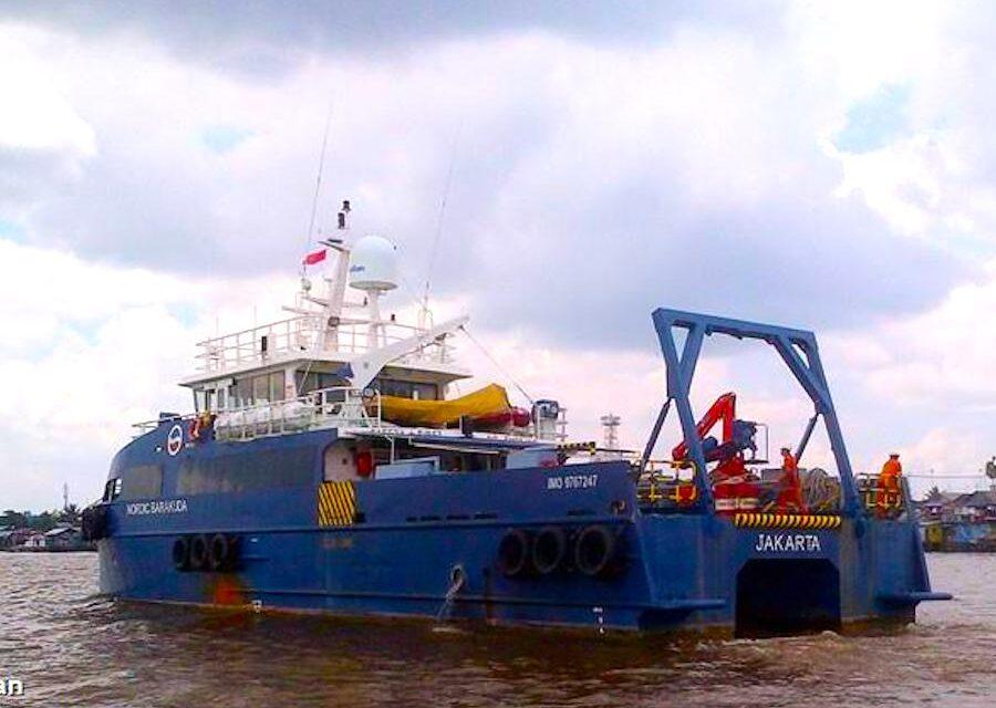 El buque supply «Nordic Barakuda» fue vendido por la Corte Suprema de Singapur por 980.000 dólares