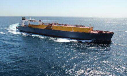El buque tanquero TMS Cardiff Gas LNG colisiono con un buque carguero frente a las costas de Bélgica