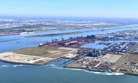 El puerto de Rotterdam ve una caída del 9,1% en el volumen de carga en el primer semestre del 2020