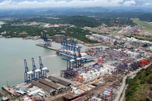 El volumen de los puertos de Panamá aumenta un 13,7% en el primer semestre de 2020