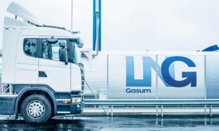 Gasum abre una nueva estación de abastecimiento de GNL en Estocolmo