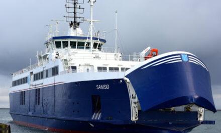 Incendio de un ferry en Kattegat