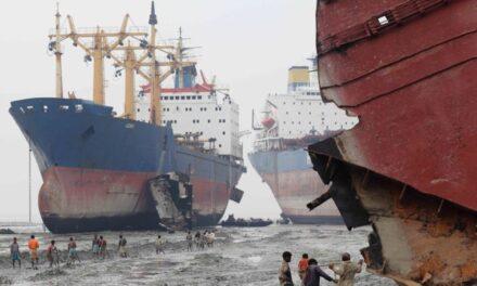 Los armadores se enfrentan a restricciones en el reciclaje de buques ya que las regulaciones de la UE limitan las opciones
