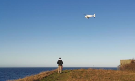 La Autoridad Marítima danesa prueba los aviones teledirigidos para monitorear las emisiones de azufre de los barcos