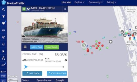 La India recibe hoy por primera vez a buques de 20.000 TEU para operaciones de cambio de tripulación