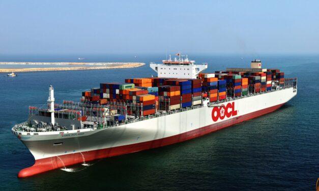Orient Overseas Container Line (OOCL) ampliará la cobertura en América Latina con un nuevo servicio