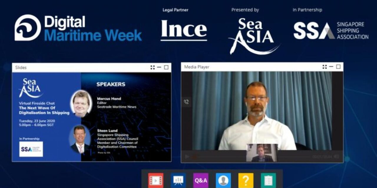 Podcast: La próxima ola de digitalización en el transporte marítimo