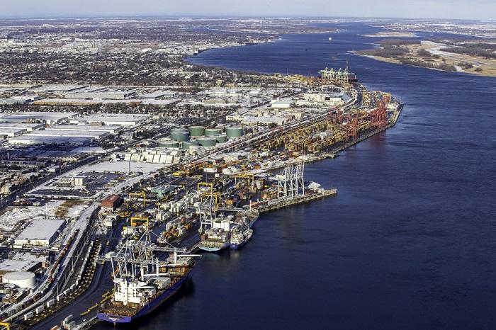 Una huelga de cuatro días golpea el puerto de Montreal