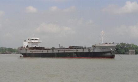 Bque construido bajo la clasificación del Registro Naval Indio fue botado al mar con éxito desde un astillero en Bangladesh