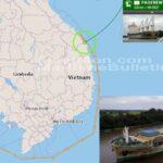 Buque de carga polaco acusado en un fondeadero no autorizado en Vietnam