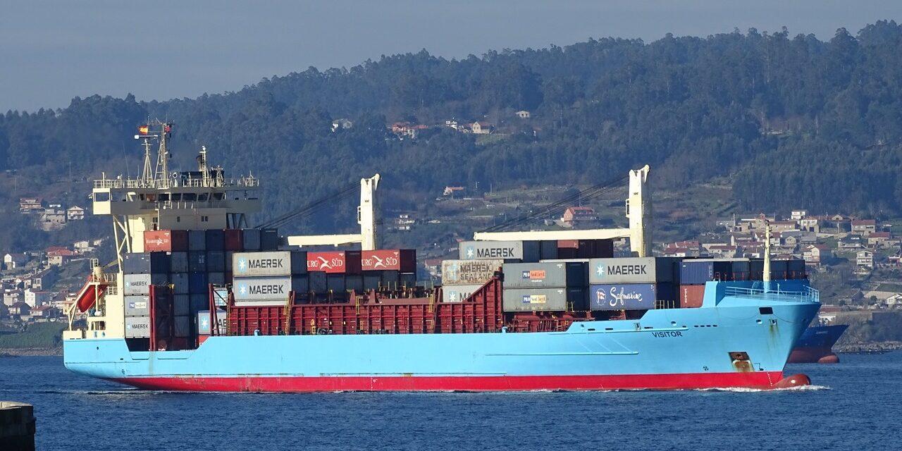 Buque portacontenedores es puesto en cuarentena en España recientemente por tener tripulación infectada