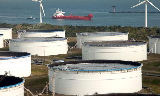 El volumen de ventas de combustible de búnker en Rótterdam baja un 1,3% en el año