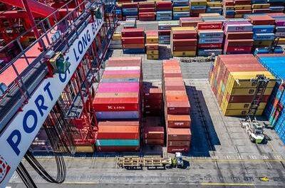 El Puerto de Long Beach reporta el mes más productivo de su historia