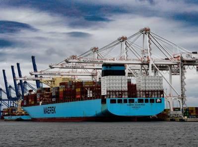 El puerto de Baltimore establece un récord de movimientos de carga