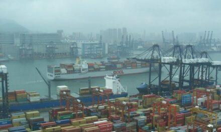 El puerto de Hong Kong está en el centro del principal rebrote de Covid-19