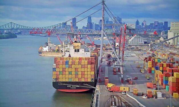La huelga en el puerto de Montreal entra en su tercera semana