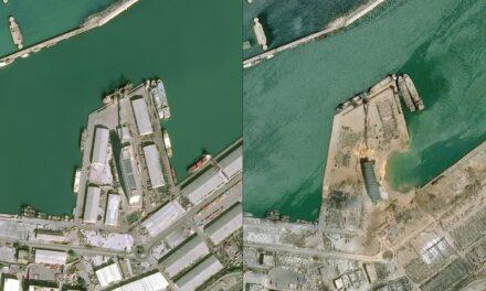 Las líneas de contenedores se desvían de Beirut tras la explosión del puerto